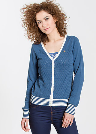 Valley of harmony Cardy, blue blossom, Cardigans, Blau