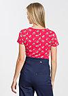 veranda feger shirt, carries cherries, Shirts, Rot