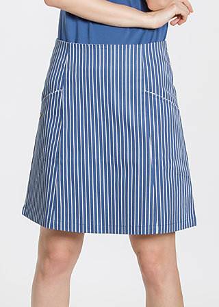 wer Liebe sät Skirt, dress like sailors, Webröcke, Blau
