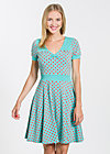 wings of spring dress, berry dots, Kleider, Türkis