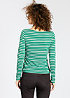 cumparsita rita cardy, stripe the vibe, Zipperjacken, Grün