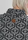 doppelkopf sweat, dark blossom, Sweatshirts, Schwarz