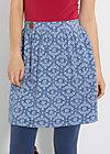 glockenglück jupe, icy blossom, Röcke, Blau