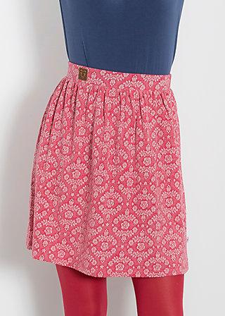 glockenglück jupe, soft blossom, Jerseyröcke, Rot