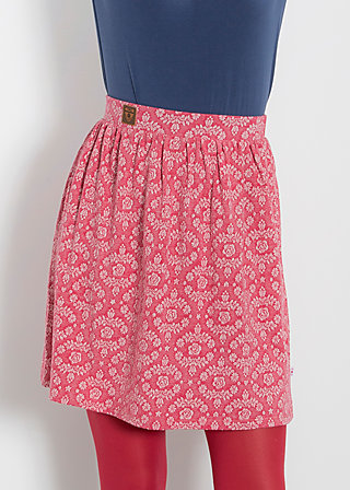 glockenglück jupe, soft blossom, Röcke, Rot