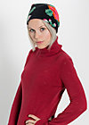 head hot beanie, wild witer fleece, Schals & Mützen, Schwarz
