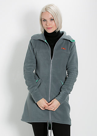 heroic shell longzip, good morning gray, Jackets, Grau