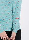 mary go round shirt, gypsy love, Langarm, Blau