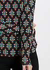 mary go round shirt, russian berries, Langarm, Schwarz