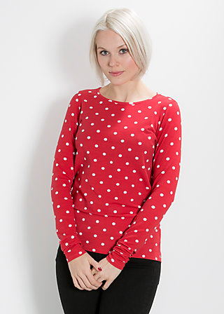 mary go round shirt, dancing dots, Shirt, Rot