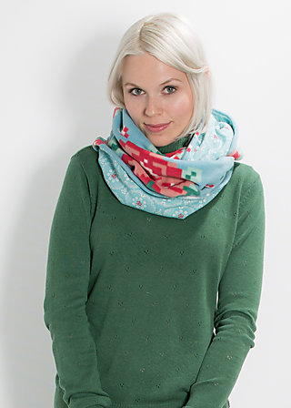 neckcloud looper, mild winter fleece, Schals, Blau