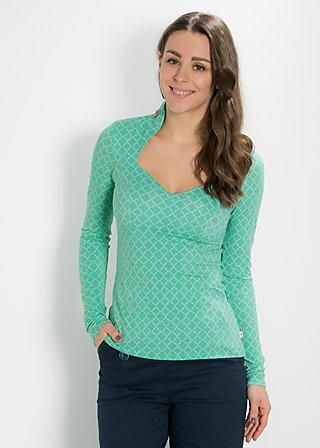 pow wow vau shirt, green taiga, Shirts, Grün