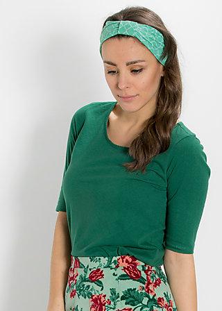 puztamädel hairband, green taiga, Haarbänder, Grün