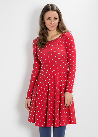 saint sophia sailor dress, dancing dots, Kleider, Rot