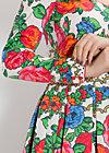 schneerosentanz robe, flower carpet, Webkleider, Weiß