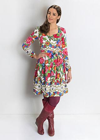schneerosentanz robe, flower carpet, Kleider, Weiß
