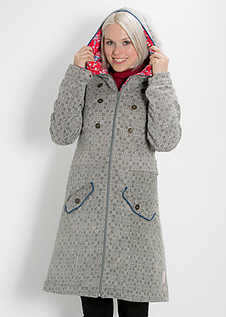 snowfox willow coat, polar star, Jackets, Grau