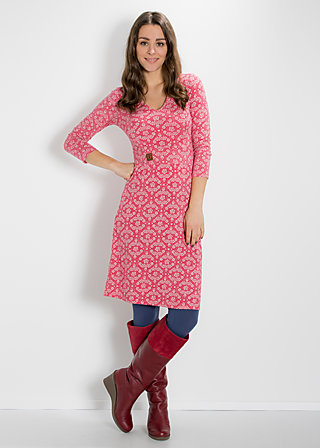 so long solitude dress, soft blossom, Kleider, Rot