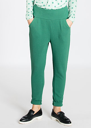 steppenwölfin sweatpants, green balkan, Trousers, Grün