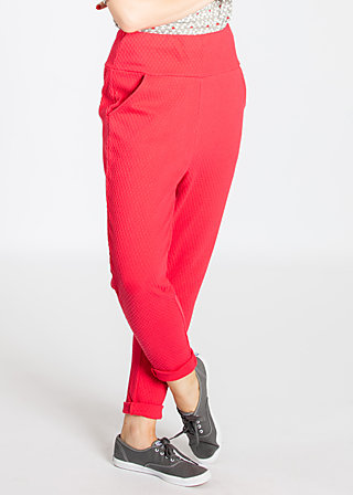 steppenwölfin sweatpants, red balkan, Hosen, Rot