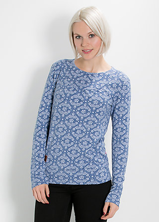 turtledove daisy shirt, icy blossom, Shirts, Blau