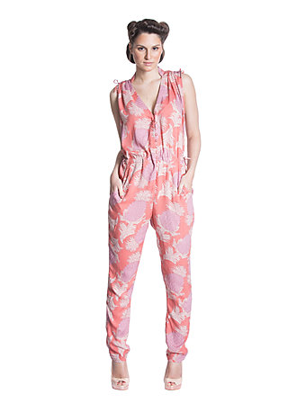 almost fashion suit, blush paradise, Jumpsuits, Rosa
