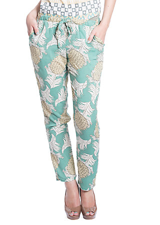 careless lightweight pants, green paradise, Grün