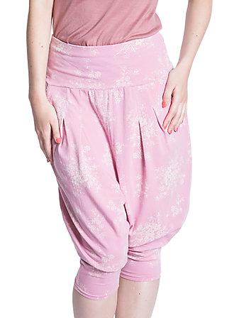 loose & leisure pants, rose blush, Rosa