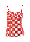 bettys ballet spaghetti, retro dotty, Tops, Rot