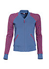 college candy zip, first kiss, Cardigans, Blau