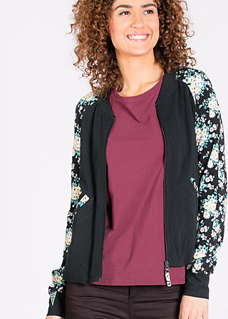 college candy zip, forever friends, Cardigans, Schwarz