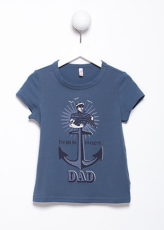 daddy supercool tee, blue monday, Shirts, Blau