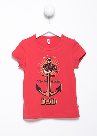 daddy supercool tee, candy cone, Shirts, Rot