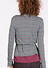 devils sweetheart cardigan, powder pencil, Cardigans, Rot