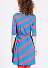 everyday ahoy dress, write a book, Jerseykleider, Blau