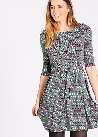 everyday ahoy dress, powder pencil, Kleider, Rot
