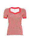 heart to heart shirt, retro dotty, Shirts, Rot
