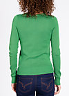 logo knit cardigan, into the forest, Cardigans, Grün