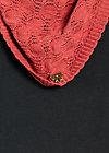 logo knit scarf, rosie rose, Schals, Rosa