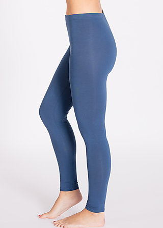 logo leggins, blue monday, Leggings, Blau