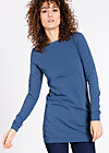 logo longshirt, blue monday, Shirts, Blau