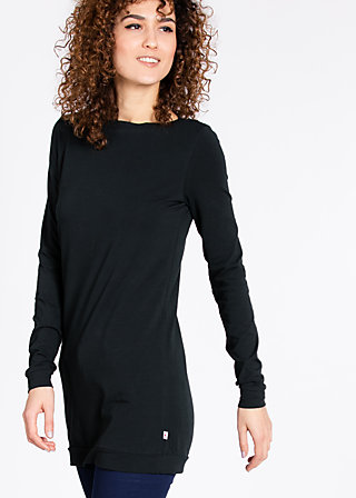 logo longshirt, black board, Shirts, Schwarz