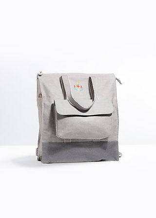 lucias lovely carryall, berlin dawn, Rucksäcke, Grau