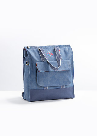 lucias lovely carryall, seafaring far away, Shopper & Rucksäcke, Blau