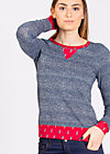 mondfrau sweat, jolly jeans, Pullover & Hoodies, Blau