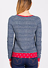 mondfrau sweat, jolly jeans, Pullover, Blau