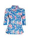 pausenaufsicht blusette, boho bouquet, Blusen & Tuniken, Blau