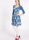 pausenbrot und peitsche dress, boho bouquet, Kleider, Blau