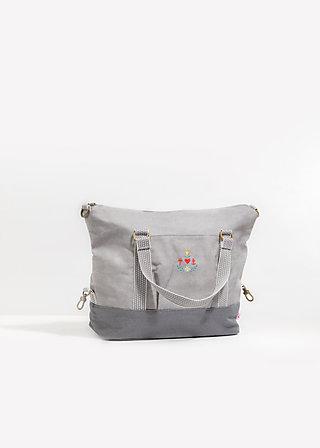 polarlight handbag, berlin dawn, Handtaschen, Grau
