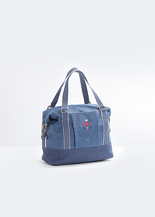 polarlight handbag, seafaring far away, Handtaschen, Blau